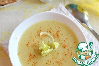 Бархатный картофельный суп