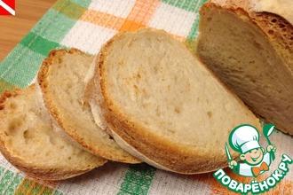 Итальянский народный хлеб на закваске