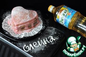 Блинный мини-торт с кремом из маршмеллоу