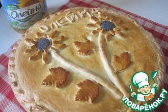 Многослойный деревенский пирог