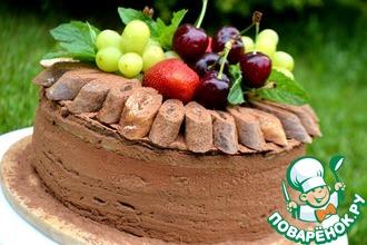 Блинный праздничный торт