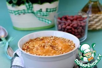 Суп-пюре из тыквы с арахисом