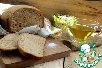 Заварной пшенично-ржаной хлеб