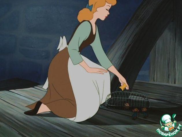 Действующие лица: Золушка, Рассказчик, Мистраль       Золушка:    Ах, как же я хочу на бал    В жемчужно-белом платье!    Чтоб принц со мною танцевал!    Какое это счастье!
