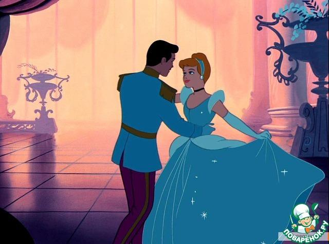 Рассказчик:   Конец у сказки всем известен,    Любовь преграды победит!    Мистраль исполнит все надежды    И Золушку в принцессу превратит!
