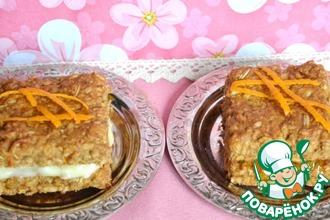 Печенье постное овсяно-апельсиновое