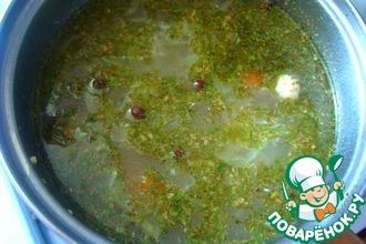 Овощной суп с молодой капустой