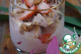 Фруктово-йогуртовый десерт для завтрака