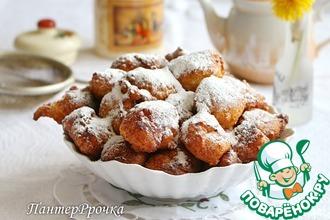 Мягкие бездрожжевые кокосовые пончики