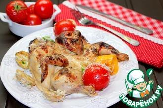Цыплята в маринаде со специями тандури