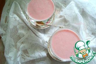 Творожно-йогуртовый десерт с ягодами
