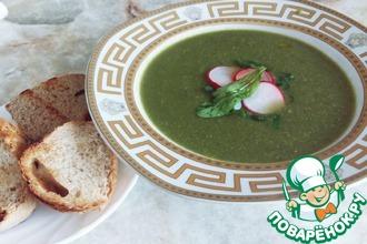 Крем-суп из редиса