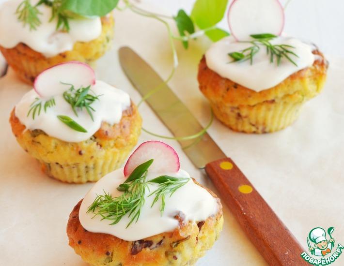 Закусочные картофельные кексы