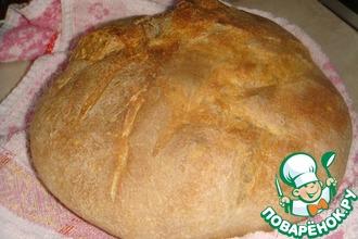 Пшенично-ржаной хлеб без замеса
