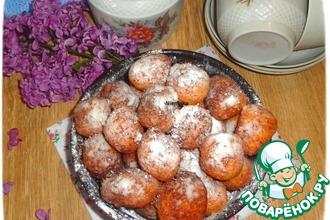 Творожно-манные пончики