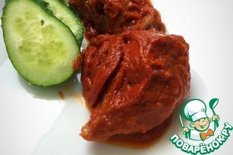 Диетическая горбуша в томатном соусе