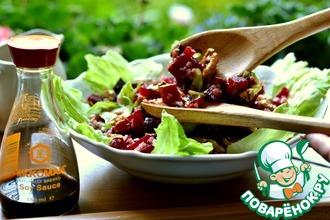 Гречневый салат со свеклой
