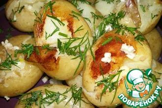 Ароматный молодой картофель в мультиварке