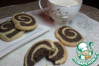 Полосатое печенье