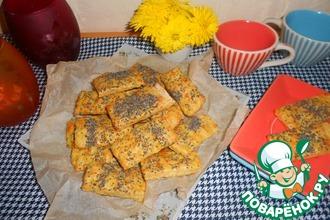 Рисово-сырное печенье