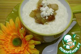 Десертный рис с грушево-кокосовым ароматом