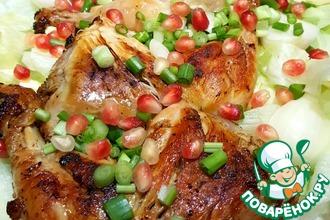 Окорочка цыплёнка в шашлычном маринаде