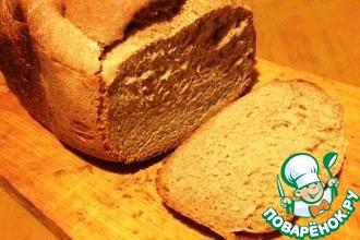 Ржаной хлеб с йогуртом