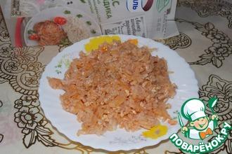 Капуста с рисом и фаршем