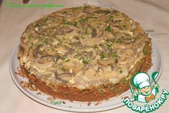 Слоеный пирог-перевертыш