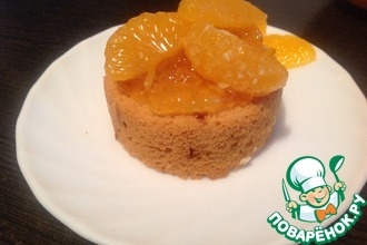 Апельсиново-миндальные кексы
