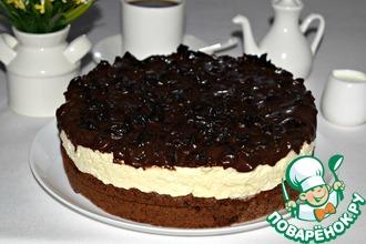 """Шоколадный торт с черносливом """"На счастье"""""""