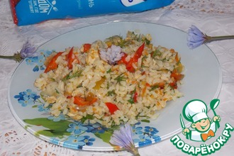Рис с болгарским перцем по-семейному