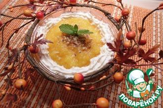 Тыквенно-ананасовый десерт
