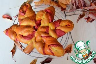 """Хлеб """"Осенний лист"""""""