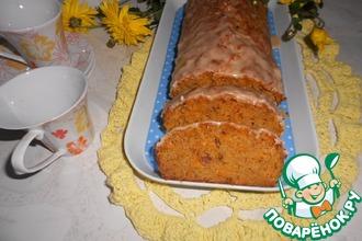 Морковно-манный пирог