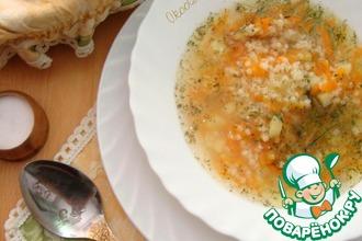 Пшённый суп
