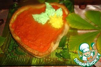 Пирог с тыквой и свежим имбирем