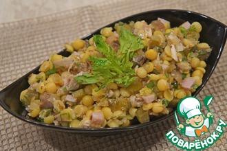 Салат с горохом или гороховый салат