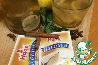 """Лимонный чайный напиток """"Свежесть"""""""