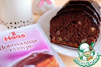 Немецкий шоколадный кекс