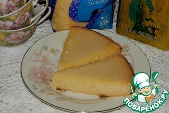 Золотистый пирог-суфле «Загадка»