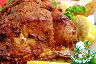 Свинина, запеченная в перцовом маринаде