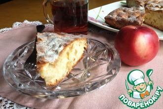 Яблочный пирог с имбирём