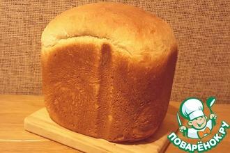 """Полудесертный хлеб """"Мёд, имбирь и апельсин"""""""