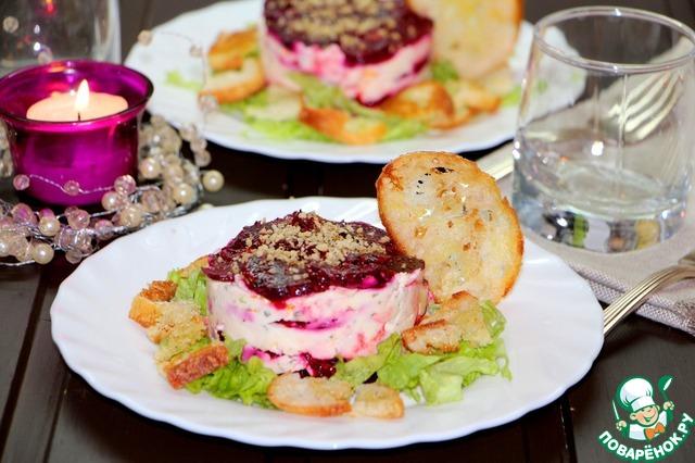 Привычный салат можно превратить в праздничное блюдо.