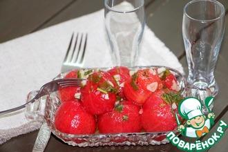 """Суточные помидоры """"Голенькие"""" без уксуса"""