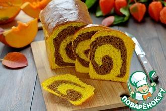 Тыквенно-шоколадный хлеб