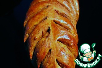 Формовка двухцветного хлеба