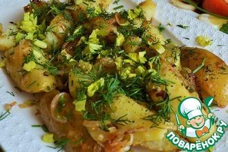 Картофель с сельдереем