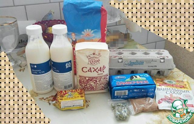 Из данного количества продуктов получается 8-12 куличей- в зависимости от размера используемых форм для выпечки.